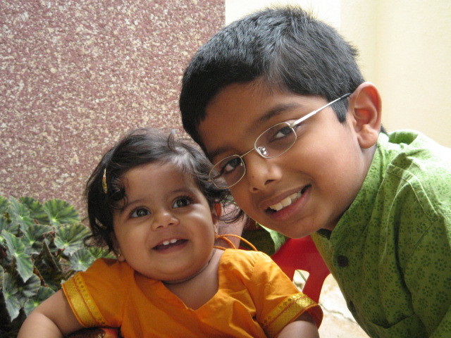 Prithvi and Kirtana - Summer '08
